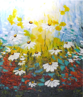 Daisies in Sunlight