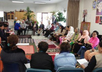 community blanket exercise