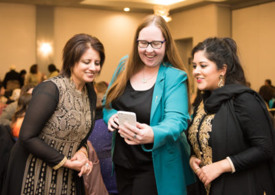 Minister Gray and Sarbjeet Sohi at the Interfaith.Event